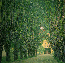 G.Klimt, Avenue in the Park of Schloss Kammer by AKG  Images