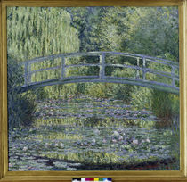 Monet / Water-Lily Pond, Green Harmony, 1899. by AKG  Images