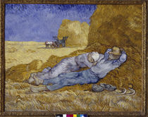 Siesta (after Millet) / Van Gogh /  Painting, 1890 by AKG  Images