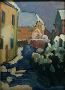 Kandinsky, Kochel – Friedhof und ... von AKG  Images