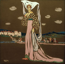 Night / W. Kandinsky / Gouache 1903 by AKG  Images