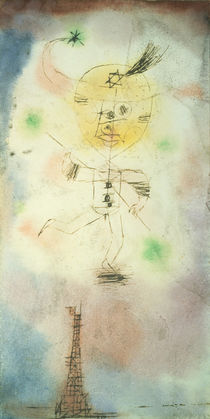 Klee / The Comet of Paris / 1918 by AKG  Images