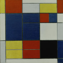 Mondrian / Composition with red, .../1920 by AKG  Images