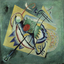 W.Kandinsky, Red Oval 1920 by AKG  Images