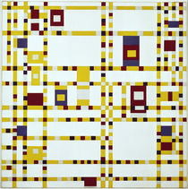 Mondrian / Broadway Boogie-Woogie / 1942 by AKG  Images