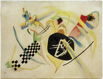 Sketch on White / W. Kandinsky / Watercolour 1920 by AKG  Images