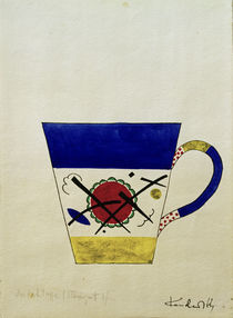 W.Kandinsky, Sketch for a milk cup by AKG  Images