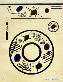 Design for a Cup and Saucer / W. Kandinsky / Watercolour c.1920 by AKG  Images