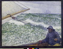 Rysselberghe / The man at the helm /1892 by AKG  Images
