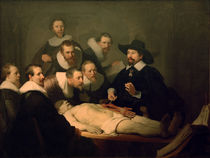 Rembrandt / The Anatomy Lesson of Dr. Nicolaes Tulp. by AKG  Images