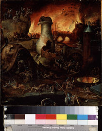 Hell / H. Bosch / Workshop / Painting, c.1500/1510 by AKG  Images