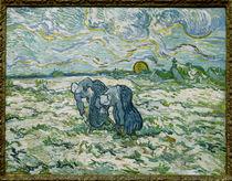 V. van Gogh, Grabende Bäuerinenn von AKG  Images
