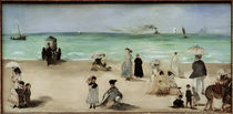 E.Manet, Beach of Boulogne-sur-Mer by AKG  Images