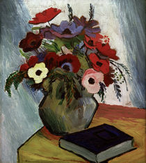 August Macke / Still life with Anenomes by AKG  Images