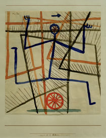 Paul Klee, Eile ohne Rücksicht / 1935 by AKG  Images