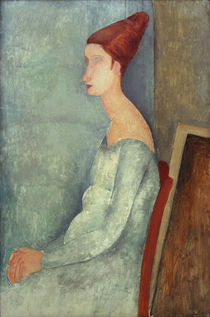 A.Modigliani, Jeanne Hebuterne sitzend von AKG  Images