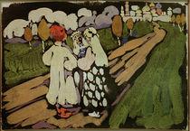 Kandinsky / Russian Scene / 1907 by AKG  Images