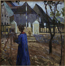 Gabriele Münter Painting II / Kandinsky / Painting, 1903 by AKG  Images