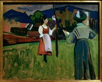 Gabriele Münter / Gemälde von Kandinsky von AKG  Images