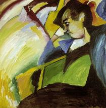 Kandinsky / Portrait G. M}nter /  c. 1910 by AKG  Images