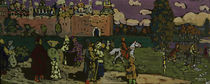 Kandinsky / Russian Scene / Tempera by AKG  Images