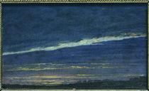 Caspar David Friedrich, Abend von AKG  Images