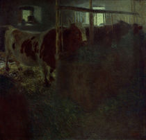 Gustav Klimt, Cows in the Stable / Painting / 1899 by AKG  Images
