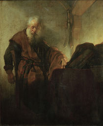 Rembrandt, Apostle Paul. by AKG  Images