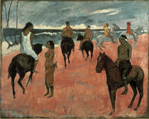 Gauguin / Rider on Beach / 1902 by AKG  Images