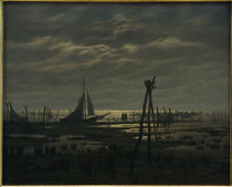 C.D.Friedrich, Marshy Beach / Paint. by AKG  Images