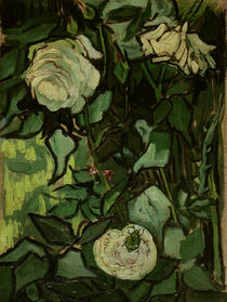 V. van Gogh, Roses and Beetle / Paint./1890 by AKG  Images