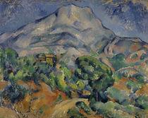 Cézanne, Montagne Sainte-Victoire/1896 von AKG  Images