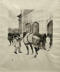 Toulouse-Lautrec, Le Paddock von AKG  Images