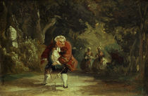 Carl Spitzweg, The Hindered Cavalier by AKG  Images