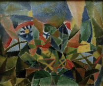 P.Klee, Flower Bed / 1913 by AKG  Images