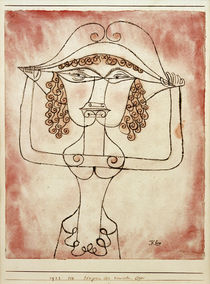 P.Klee, Singer of the Comic Opera / 1923 by AKG  Images