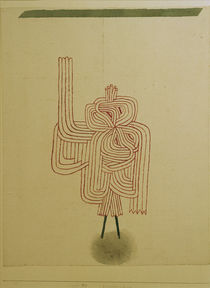 P.Klee, Gespenster-Schwur (Ghost) /1930 by AKG  Images