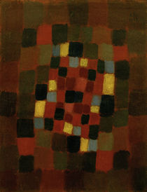 Paul Klee, Colourful Flower Bed / 1923 by AKG  Images
