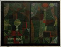 P.Klee, Landschaft in Grün von AKG  Images