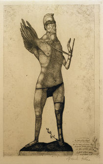 P.Klee, Hero with the Wing / 1905 by AKG  Images