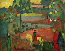 W.Kandinsky, Lancer in Landscape by AKG  Images