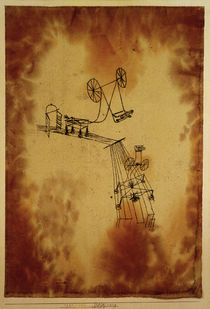 Paul Klee, Begegnung (Encounter) / 1921 by AKG  Images