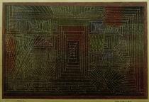 Paul Klee, Schloss im Wald zu bauen von AKG  Images
