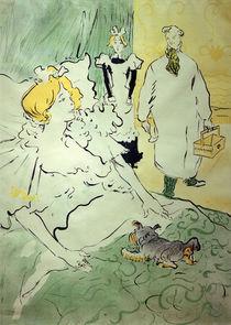 Modern Artisan / H. de Toulouse-Lautrec / Lithograph 1896 by AKG  Images