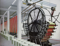 C.Grossberg / Paper Machine / Paint./1934 by AKG  Images