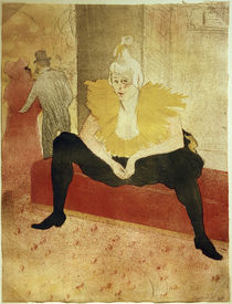 Clownesse Cha-U-Kao / Toulouse-Lautrec / Lithograph by AKG  Images