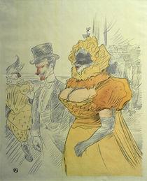 Toulouse-Lautrec, Bal des étudiants von AKG  Images