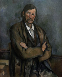 P.Cézanne / Man with crossed arms. by AKG  Images