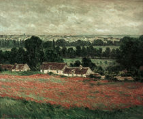 Claude Monet / Poppy Field near Vétheuil by AKG  Images