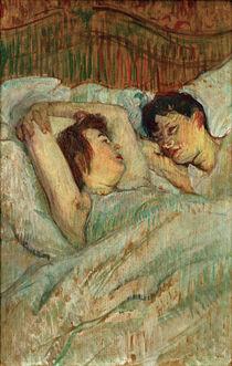 Toulouse-Lautrec, Im Bett by AKG  Images